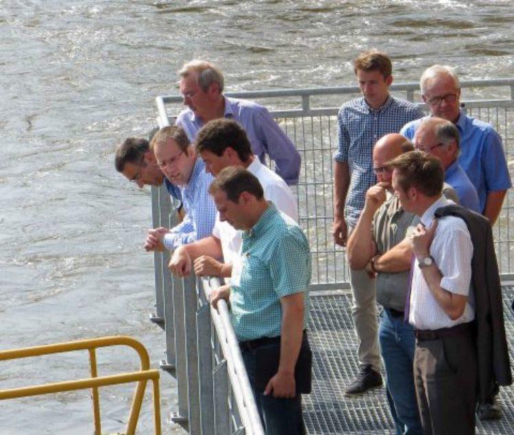 Besuch des Dörverdener Wasserkraftwerks