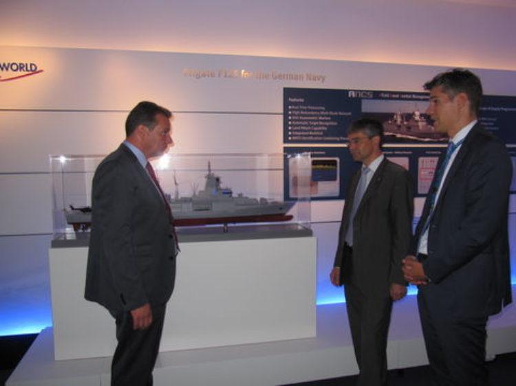Besuch bei Atlas Elektronik in Bremen