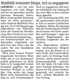 Info Komm. Langwedel