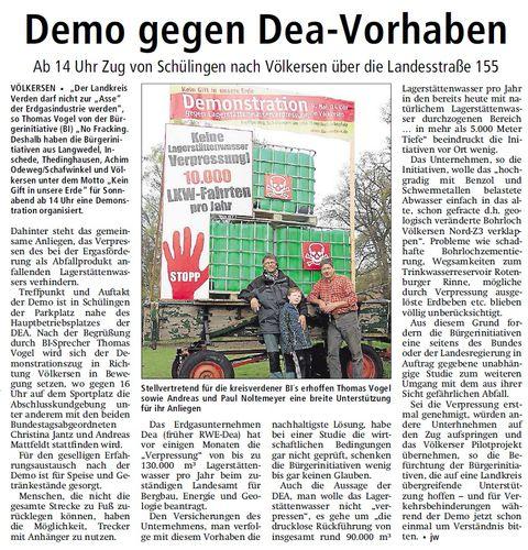 Kreiszeitung Demo