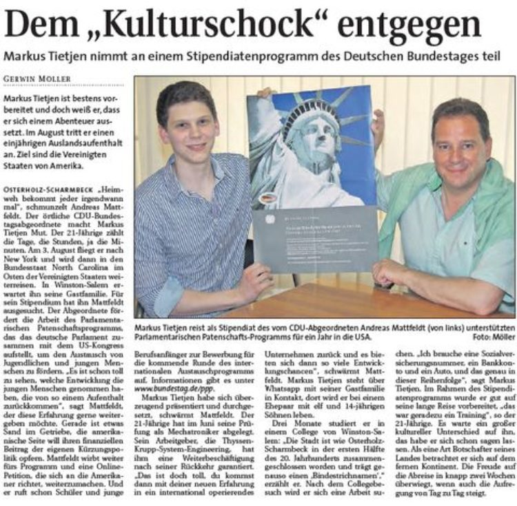 Hamme Report vom 22.07.2015