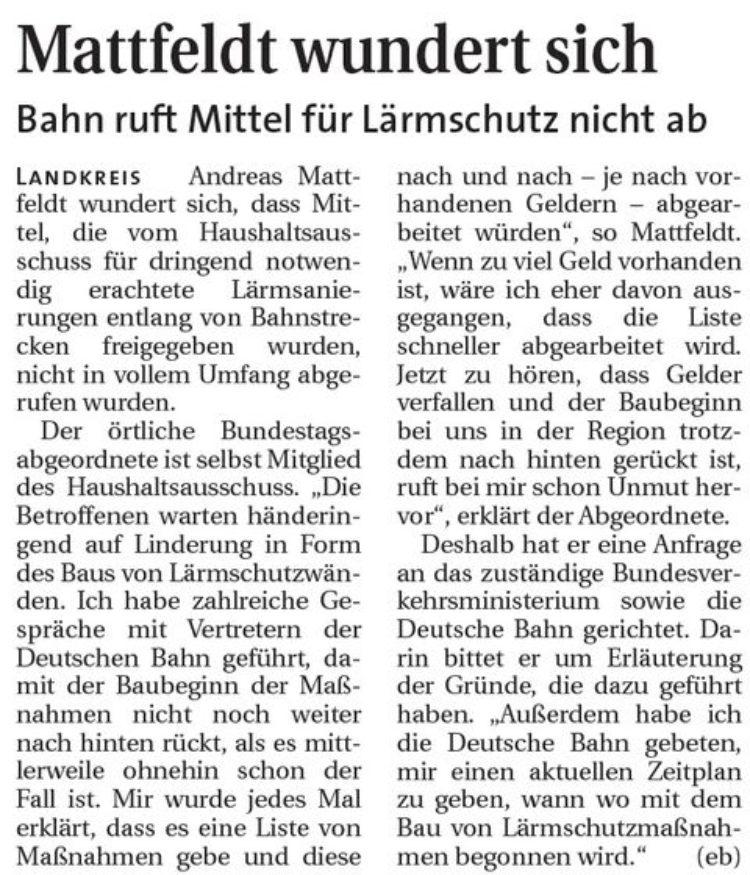 Hamme Report vom 28.01.2015