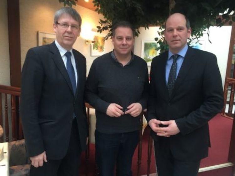Gespräch mit Osterholzer Landvolkvorsitzendem Warnken