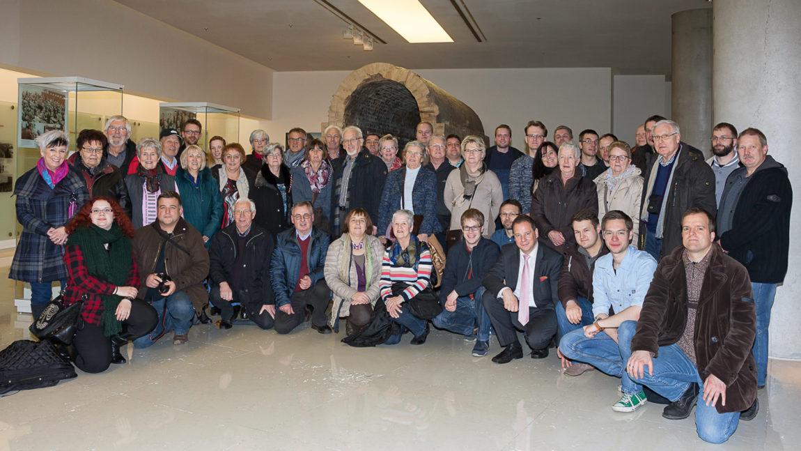 Verdener THW-Gruppe zu Besuch in der Hauptstadt