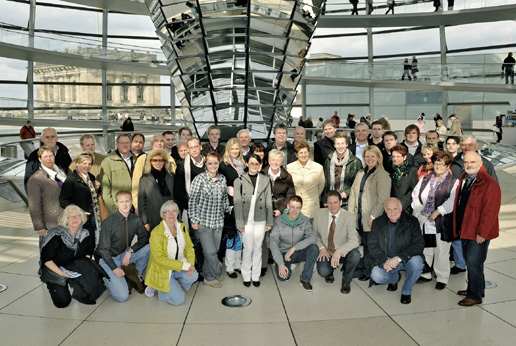 Wahlkampfteam in Berlin