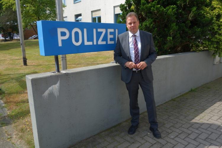 Besuch der Polizeiinspektion Verden/Osterholz