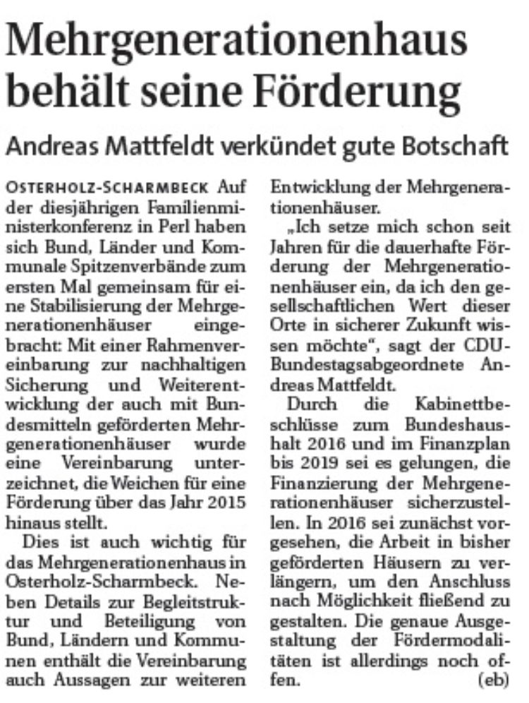 Hamme Report vom 08.07.2015