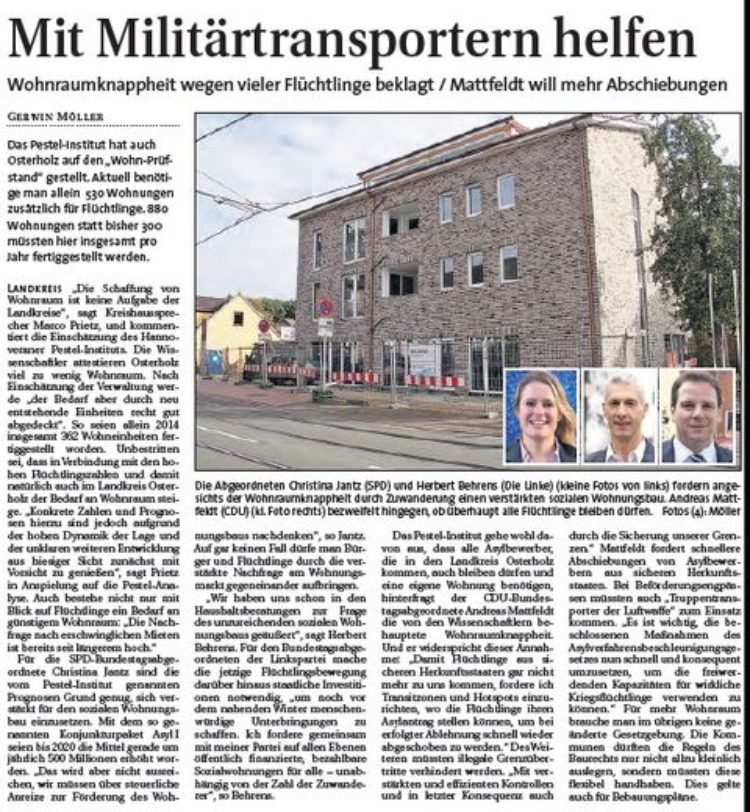 Hamme Report vom 28.10.2015