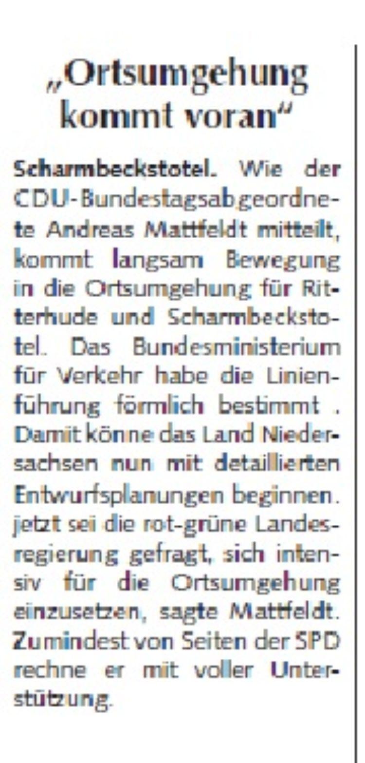 Osterholzer Anzeiger vom 29.07.2015