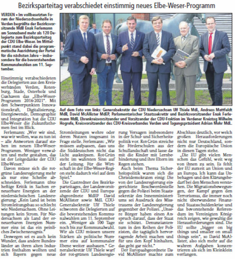 CDU will mehr gestalten
