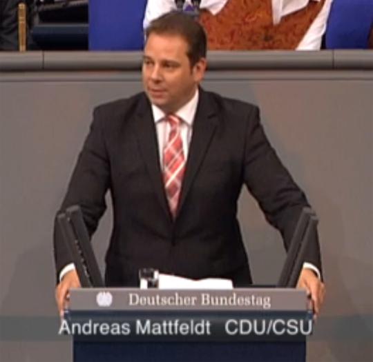 Morgen: Rede im Deutschen Bundestag