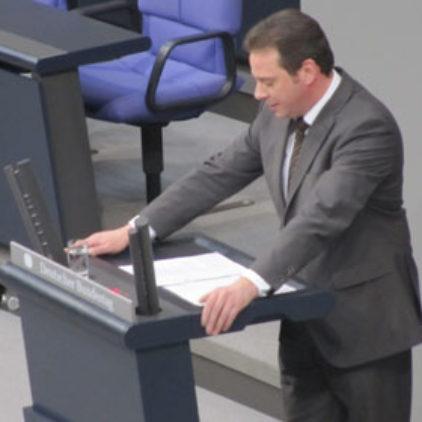 Jungfernrede im Deutschen Bundestag