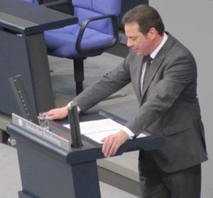 Rede im Bundestags-Plenum