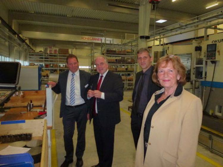 Besuch bei Ritterhuder Armaturen GmbH & Co. Armaturenwerk KG (RITAG)