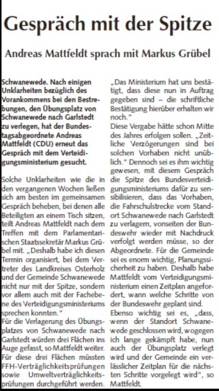 Osterholzer Anzeiger vom 15.10.2014