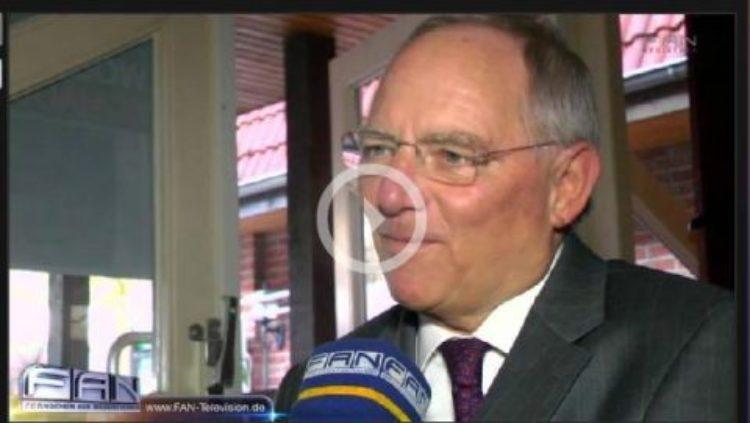 FAN berichtet vom Besuch Schäubles