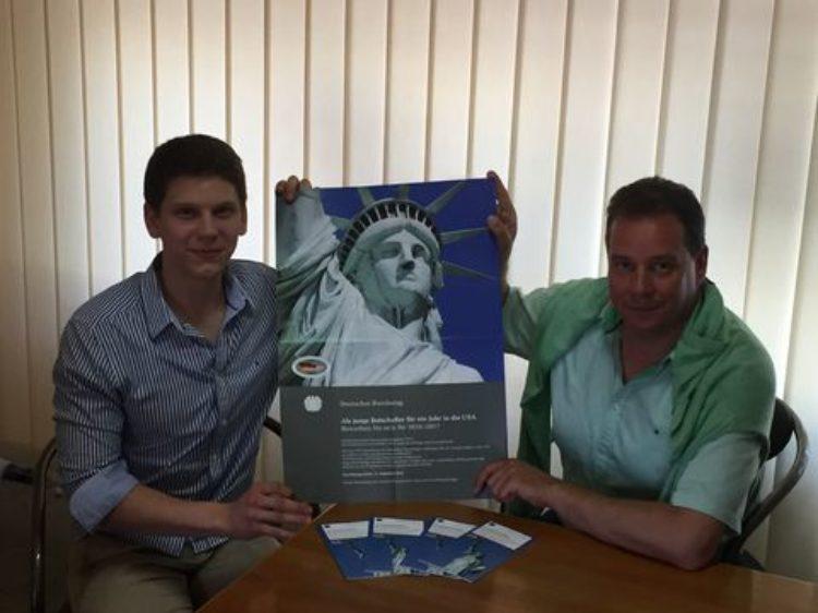 Bundestagsstipendium ermöglicht 21-jährigem Osterholz-Scharmbecker USA-Aufenthalt