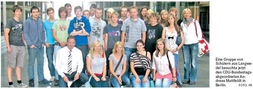 Langwedeler Schüler in Berlin