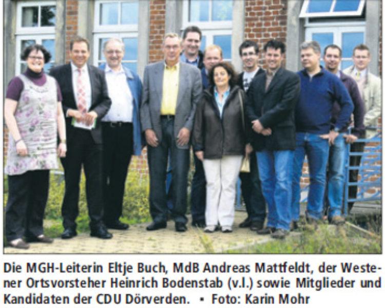 Bundestagsabgeordneter zu Gast im Mehrgenerationenhaus / Fördermittel