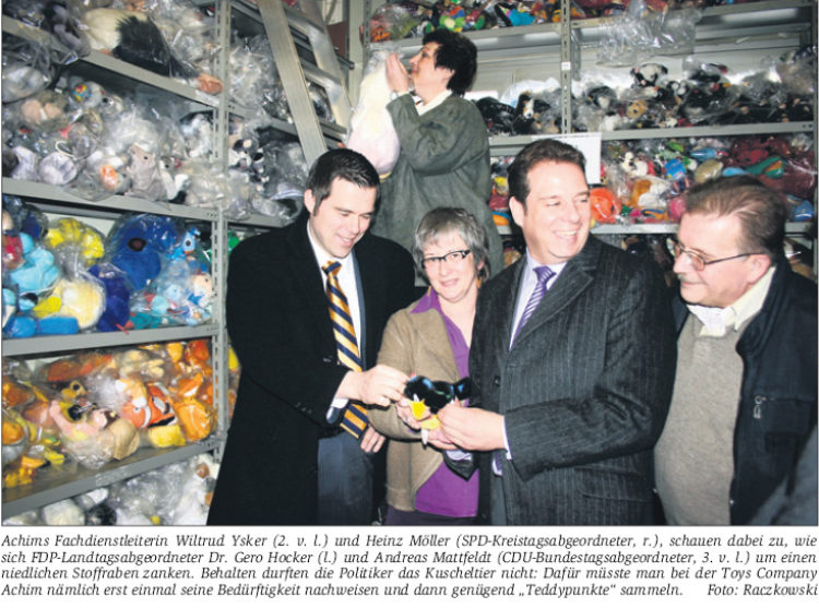Eröffnung der Toys Company
