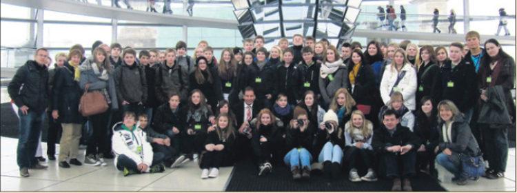 Kirchlintelner Verein emforce bringt Schüler nach Berlin