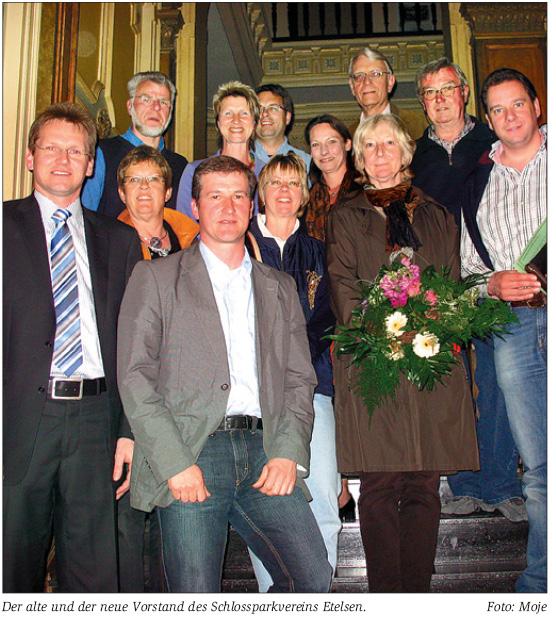 MdB Mattfeldt für Erhalt des Schlossparkvereins