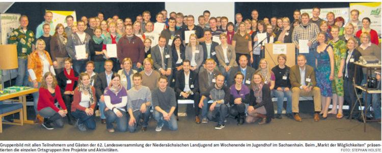 62. Versammlung der Niedersächsischen Landjugend