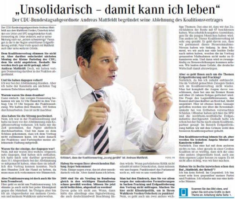 Mattfeldt im Interview