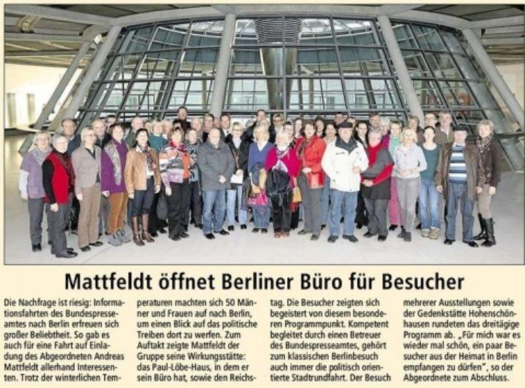 Besuch in Berlin