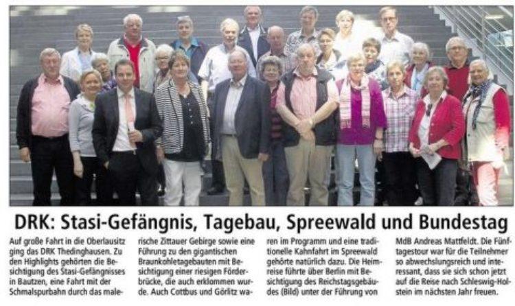 DRK Thedinghausen besucht MdB