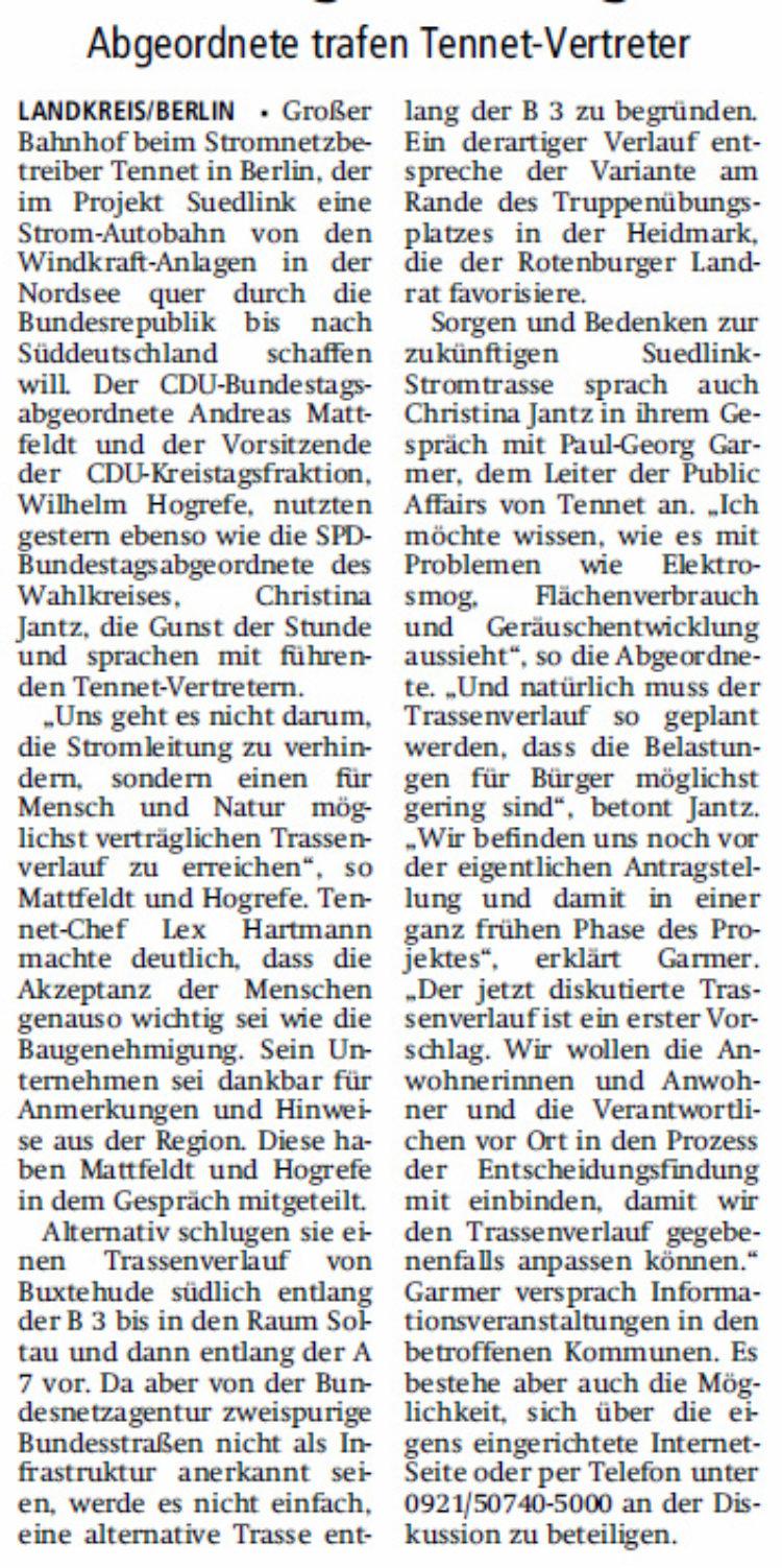 """""""Möglichst geringe Belastung der Bürger"""""""