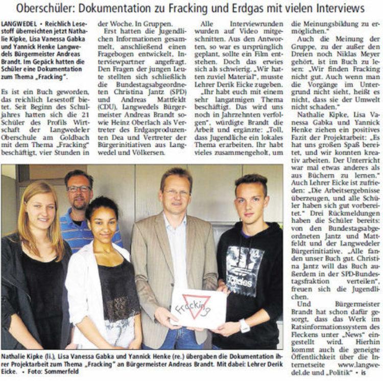 Langwedeler Projektarbeit reicht bis nach Berlin