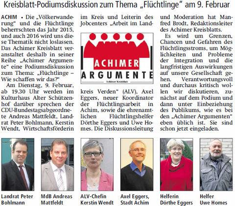 V A Z 16 01 05 Kreisblatt-Podiumsdiskussion