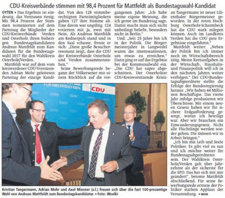 """""""Mit Leib und Seele Politiker"""""""