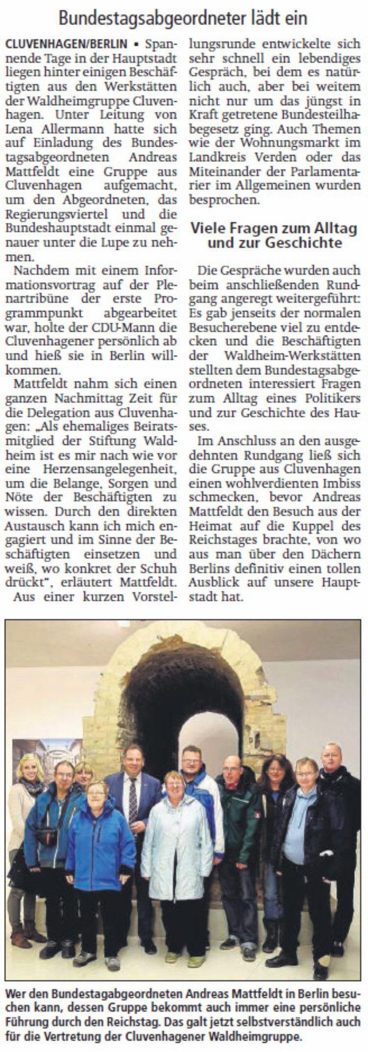 Politik hautnah: Waldheim in Berlin
