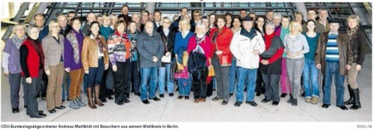 Mit Mattfeldt durchs politische Berlin