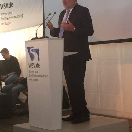 150 Jahre Wasser- und Schifffahrtsamt Verden – Reform: Standort bleibt erhalten