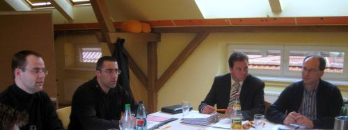 Neuer CDU Vorstand stellt  die Weichen für das Wahljahr 2009