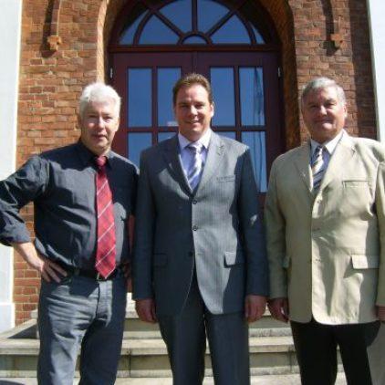 Besuch bei Bürgermeister Wagener – Situation auf der B74 muss verbessert werden