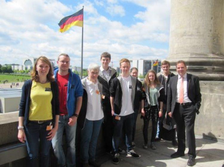 Geschwisterkinder zu Besuch in Berlin