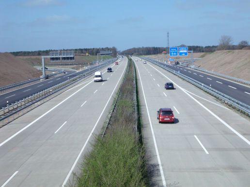 Autobahnabfahrt Langwedel ist fertiggestellt