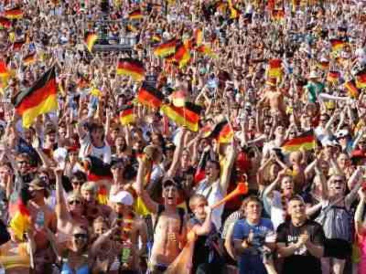 Fussball WM und Besuch aus Völkersen