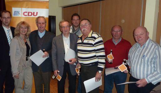 Neuer CDU Vorstand in meiner Heimatgemeinde