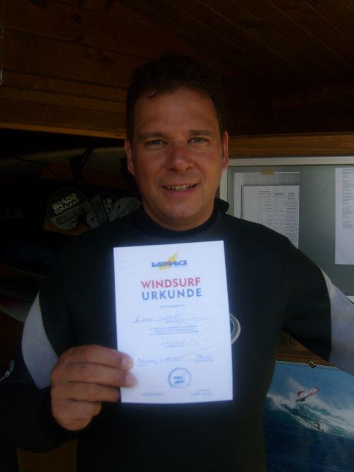 Surfkurs erfolgreich bestanden