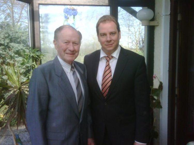Wilhelm Schindel ist 90 und Klaus-Dieter Pfaff im Ruhestand