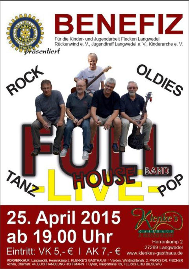 Benefiz-Konzert am 25.04.15 in Langwedel