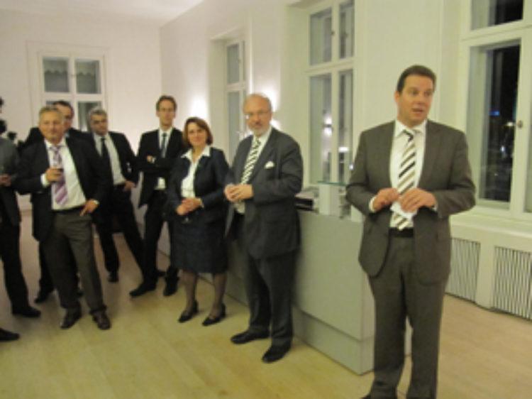 Erste Zusammenkunft der 09er Gruppe der CDU/CSU-Bundestagsfraktion