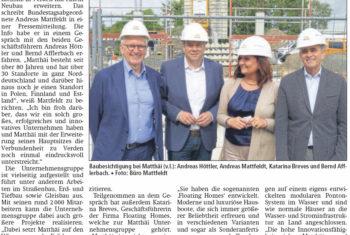 Neubau am Standort Verden