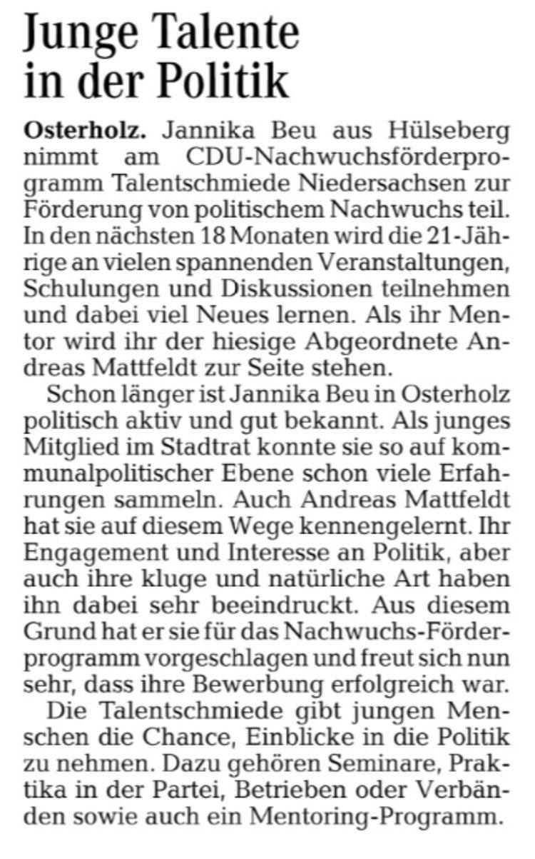 Talentschmiede der CDU