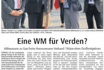 CDU-Spitzenkandidat Bernd Althusmann zu Gast